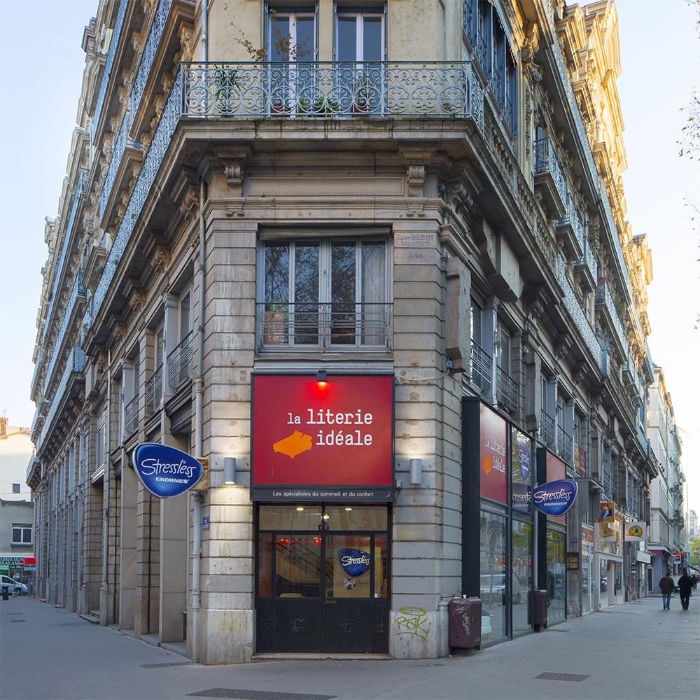 Extérieur du magasin La Literie Idéale